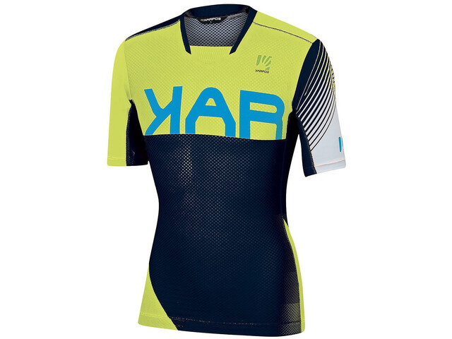 Karpos Verve Tee Men sky captain/yellow fluo